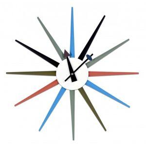 Nástenné hodiny Pugio 52 cm, farebné