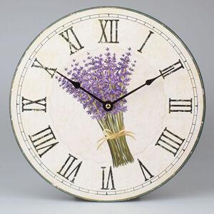 Nástenné hodiny HLC, Levanduľa C1701, 30cm
