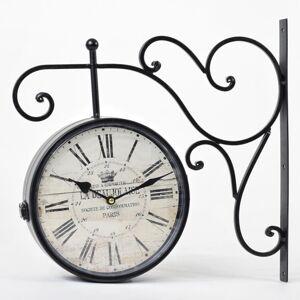 Nástenné hodiny Flor0102, Old Town Clock, 40x40cm