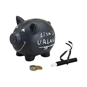 Popisovateľná pokladnička Bank Prasiatko 17cm RD2336