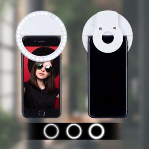 Selfie LED svetlo RD7007, biele