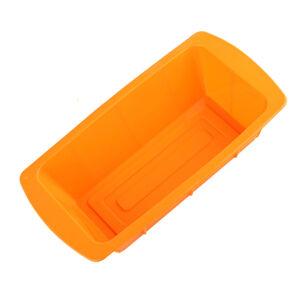 Forma na pečenie zo silikónu EL-SCM1, oranžová