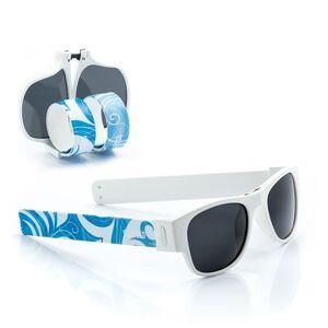 Skladacie slnečné okuliare 0346 Sunfold ST3, modrobiele