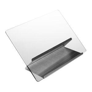 Držiak na kuchárske knihy, nerezový kov a sklo, RD9249